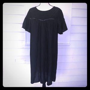 Old Navy XL black dress